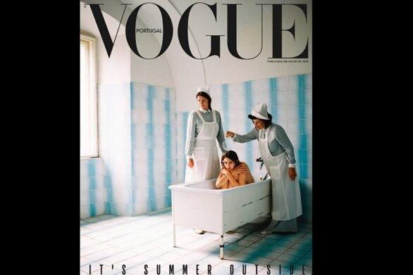 Η πορτογαλική Vogue απέσυρε κακήν κακώς το εξώφυλλο του «Τεύχους Τρέλας»