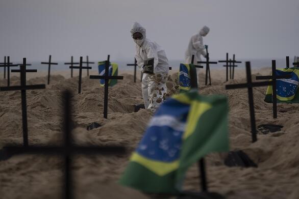 Covid-19: Παραμένει εκτός ελέγχου η κατάσταση στην Βραζιλία