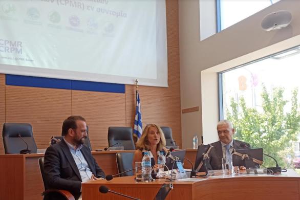 Στην Περιφέρεια Δυτικής Ελλάδας η Γενική Γραμματέας της CPMR Ελένη Μαριάνου