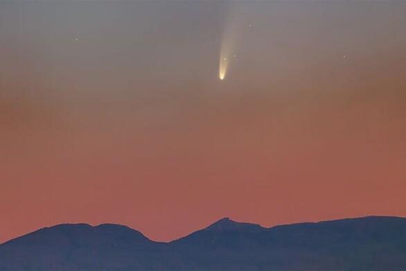 Πάτρα: Ο φωτεινός κομήτης C/2020 F3 που θα μας ξυπνήσει χαράματα για να τον δούμε