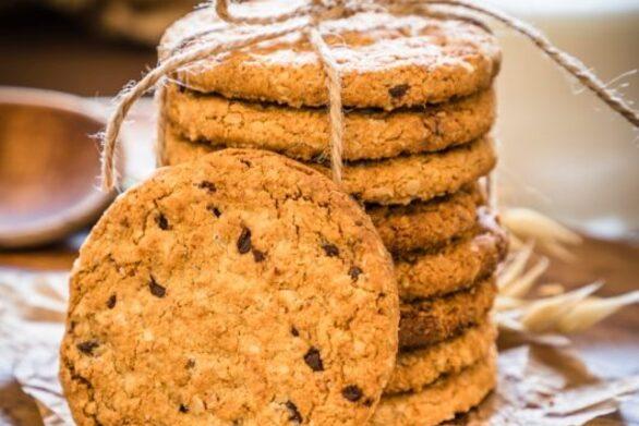 Συνταγή για μπισκότα βρώμης με κομματάκια σοκολάτας