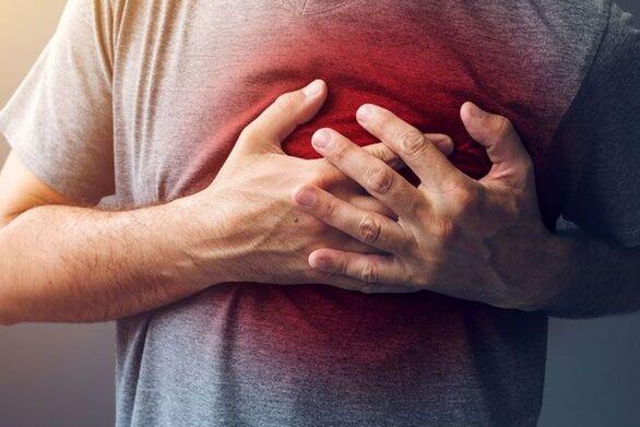 Έμφραγμα: Τα συμπτώματα που αυξάνουν τον κίνδυνο
