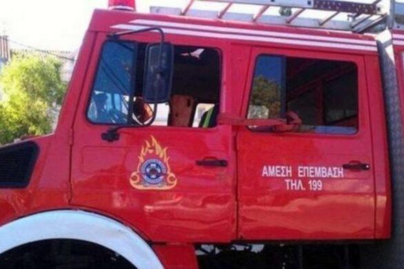 Πάτρα: Φωτιά στο Δασύλλιο