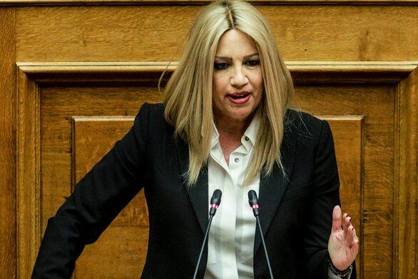 """Γεννηματά: """"Ο Μητσοτάκης αποκλειστικά υπεύθυνος απέναντι στον λαό για τα εθνικά θέματα"""""""