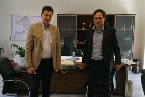 Ο Πέτρος Ψωμάς συναντήθηκε με τον Δήμαρχο Χαϊδαρίου