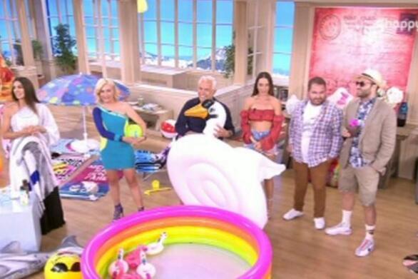 Η Σταματίνα Τσιμτσιλή αποχαιρέτησε το τηλεοπτικό κοινό (video)