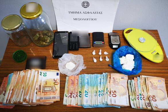 Δυτική Ελλάδα: Συνελήφθη ένας άνδρας στο Μεσολόγγι για διακίνηση και κατοχή ναρκωτικών
