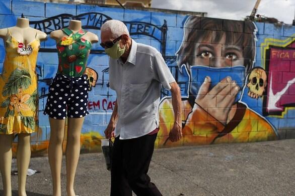 Κορωνοϊός: Άλλοι 555 θάνατοι στην Βραζιλία