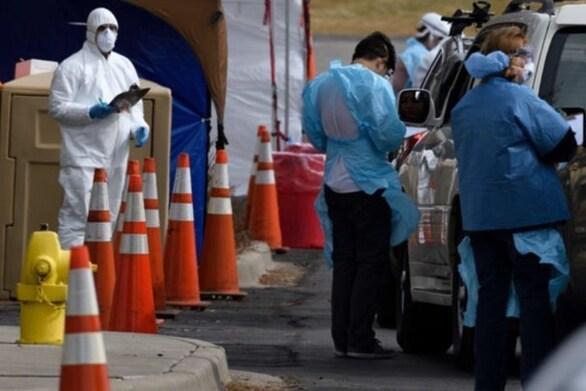 Κορωνοϊός: Πάνω από 57.000 νέα κρούσματα στις ΗΠΑ