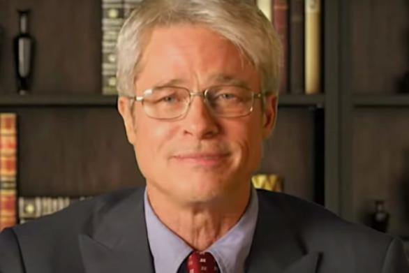 O Brad Pitt διεκδικεί Emmy για ένα τρίλεπτο σκετσάκι που υποδύεται τον Δρ. Φάουτσι (video)