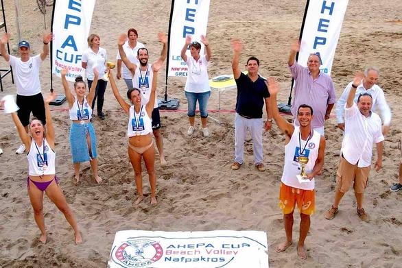 Ολοκληρώθηκε το τουρνουά Beach Volleyball Ahepa Cup 2020 (φωτο)