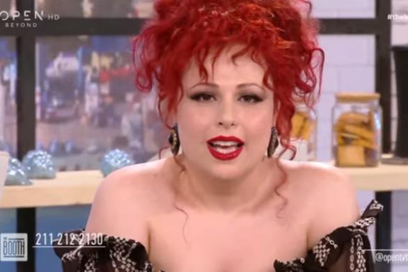 Σοφία Κουρτίδου - Αποχαιρέτισε live τον Αγάθωνα, με δάκρυα στα μάτια (video)