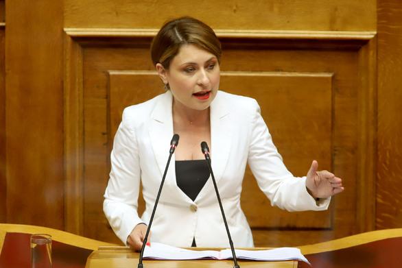 """Χριστίνα Αλεξοπούλου: """"Συγχαρητήρια στους νεαρούς του Προμηθέα"""""""