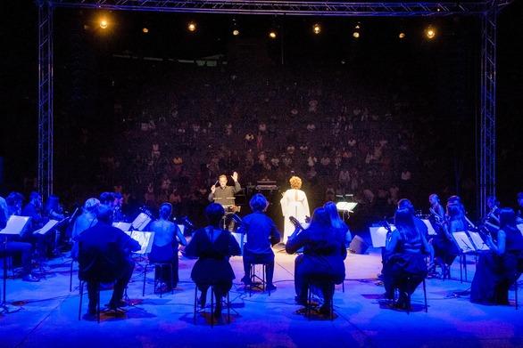 Διεθνές Φεστιβάλ Τεχνών Αρχαίας Ολυμπίας: Μάγεψε το κοινό η Ορχήστρα Νυκτών Εγχόρδων «Θανάσης Τσιπινάκης»