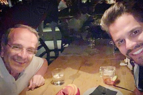 Αντώνης Σαμαράς και Γιώργος Τσαλίκης, δείπνησαν παρέα στο Λουτράκι