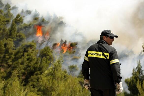 Παραμένει υψηλός και την Πέμπτη ο κίνδυνος πυρκαγιάς στη Δυτική Ελλάδα