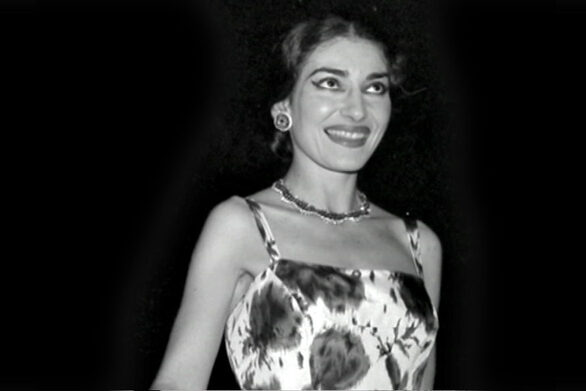 Σπάνια φωτογραφία της Μαρίας Κάλλας πριν εγκαινιάσει το Φεστιβάλ Αθηνών