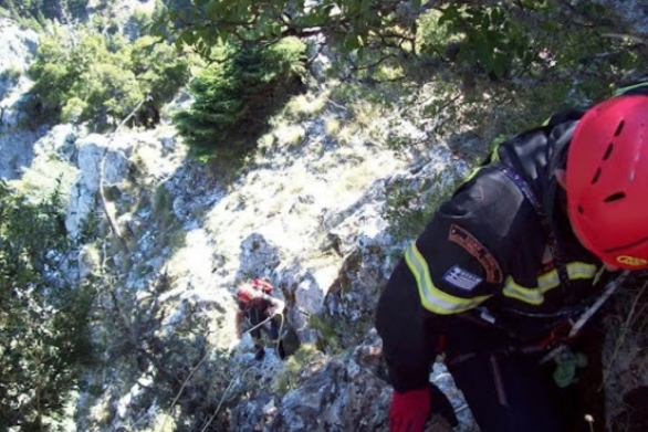 Αχαΐα: Περιπέτεια για δύο ορειβάτες στην ορεινή Ακράτα