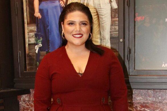 Η Δανάη Μπάρκα ετοιμάζεται για το τηλεοπτικό της ντεμπούτο