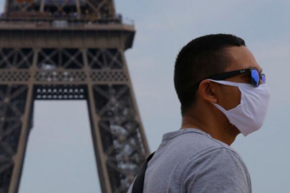 Γαλλία: Υποχρεωτική η χρήση μάσκας σε όλο το Παρίσι