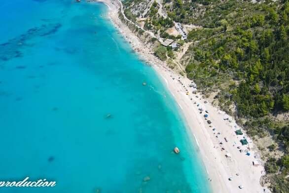 Γνωρίστε τις παραλίες Καβαλικευτά και Αβάλι της Λευκάδας (video)