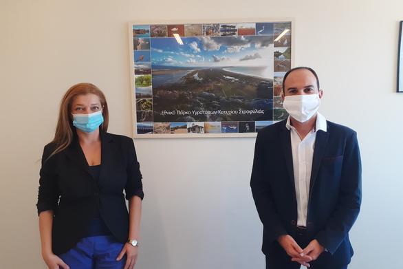 Περιφέρεια Δυτικής Ελλάδας: Συνάντηση Λ. Δημητρογιάννη με Δ. Αυγερινοπούλου