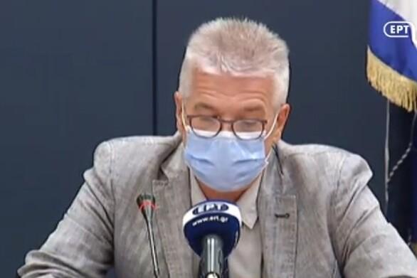 """Χ. Γώγος: """"Κρίσιμη η κατάσταση του κορωνοϊού - Η πανδημία συνεχίζεται με μεγάλη διασπορά"""""""