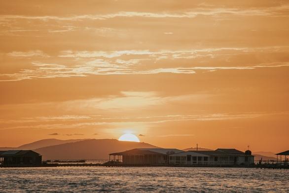 Μαγεία το σούρουπο στη λιμνοθάλασσα του Μεσολογγίου (φωτο)