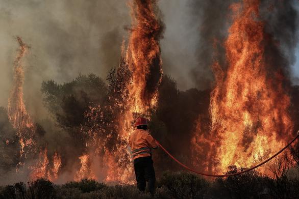 Πολύ υψηλός κίνδυνος πυρκαγιάς στην Αχαΐα