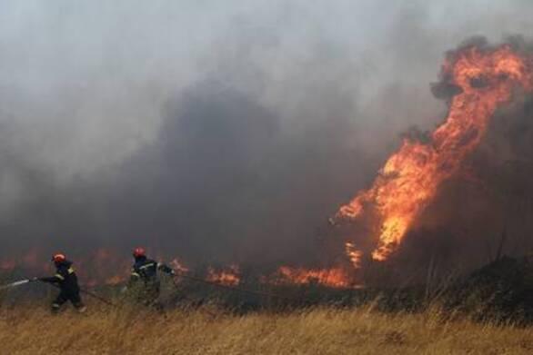 Παραμένει υψηλός ο κίνδυνος πυρκαγιάς στη Δυτική Ελλάδα την Παρασκευή