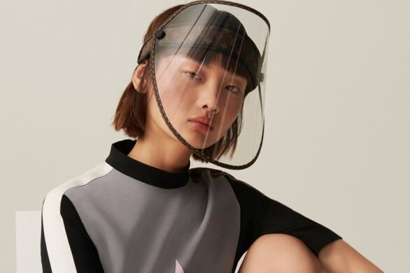 Louis Vuitton: Μάσκα με... χρυσές «πινελιές» για την προστασία από τον covid 19!