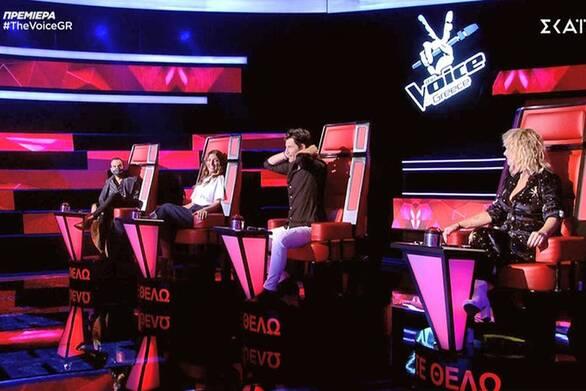 The Voice - Η τηλεθέαση που σημείωσε στην πρεμιέρα