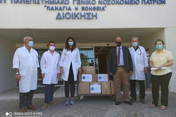 Μάσκες προστασίας στους φοιτητές Ιατρικής του Πανεπιστημίου Πατρών από την Περιφέρεια Δυτικής Ελλάδας