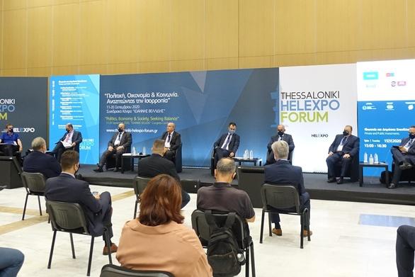 Στις εργασίες του Thessaloniki Helexpo Forum ο Πρόεδρος του Επιμελητηρίου Αχαΐας