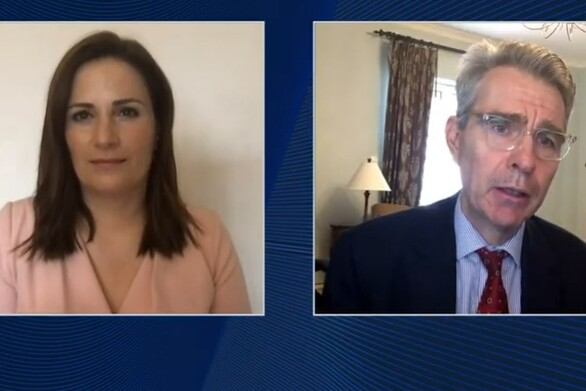 Τζέφρι Πάιατ στο Olympia Forum Ι: «Δεν θα επηρεαστούν οι ελληνοαμερικανικές σχέσεις από το αποτέλεσμα των εκλογών»