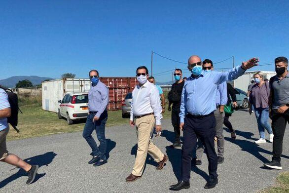 Μηταράκης: Την άλλη εβδομάδα η ΚΥΑ για τις αποζημιώσεις από τη φωτιά στη Μόρια