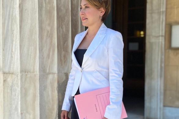 """Χριστίνα Αλεξοπούλου: """"Δεν κάμπτεται το θρησκευτικό μας φρόνημα από θρασύδειλους"""""""