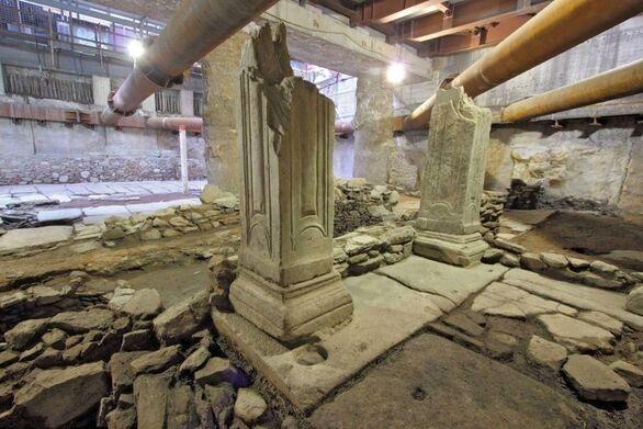 """Θεσσαλονίκη: """"Πράσινο φως"""" για την απόσπασης των αρχαίων από το μετρό «Βενιζέλου»"""