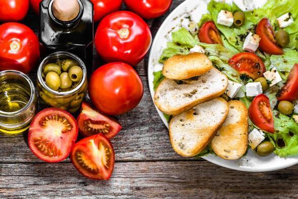 Μεσογειακή διατροφή για καλύτερες αθλητικές επιδόσεις