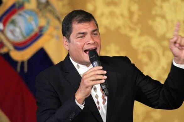 Ισημερινός: Η κυβέρνηση εκδίδει κόκκινη ειδοποίηση της Ιντερπόλ σε βάρος του πρώην προέδρου Κορέα