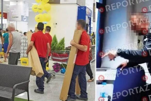 """Σεκιουριτάς """"ανακρίνει"""" πελάτη για κλοπή σε κατάστημα της Πάτρας! (video)"""
