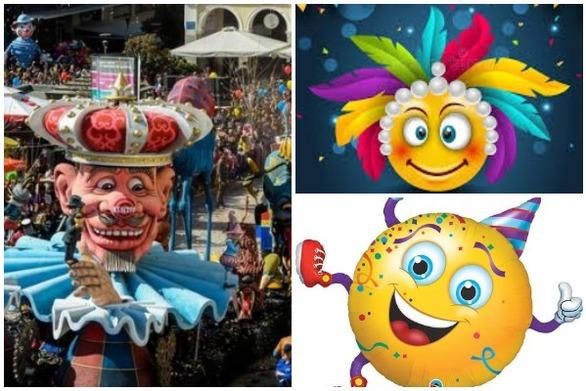 Πανελλήνιος Διαγωνισμός Emoji και animated Emoji εμπνευσμένα από το Καρναβάλι της Πάτρας