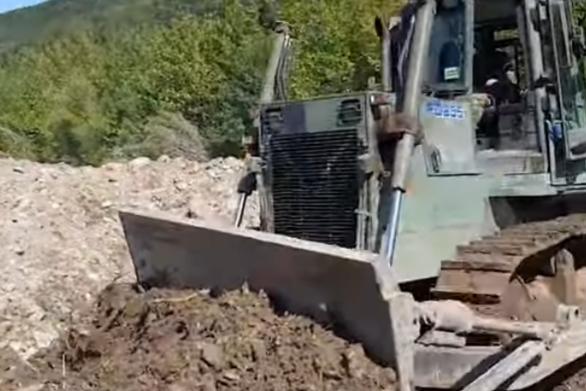 Ο Στρατός Ξηράς στη μάχη αποκατάστασης των ζημιών από την κακοκαιρία «Ιανός»