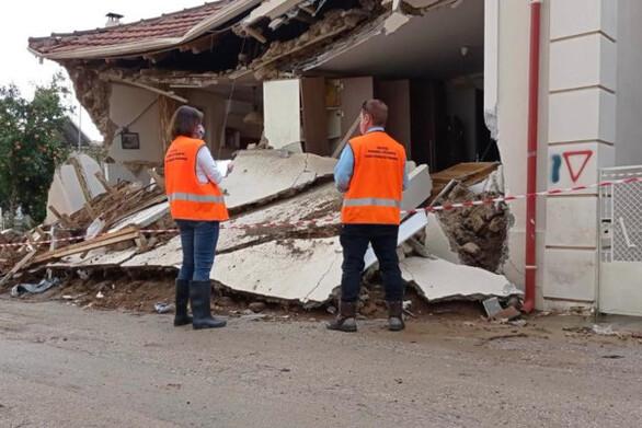 Κακοκαιρία «Ιανός»: Συνεχίζονται οι έλεγχοι στις πληγείσες περιοχές από το υπ. Υποδομών