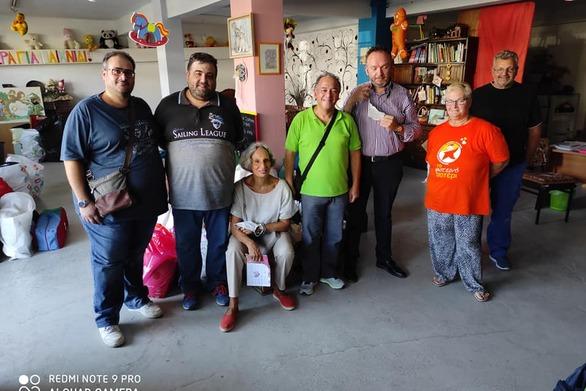 Δωρεά στο Φωτεινό Αστέρι από τον Ροταριανό Ηλεκτρονικό Όμιλο Νοτίου Ελλάδος (φωτο)