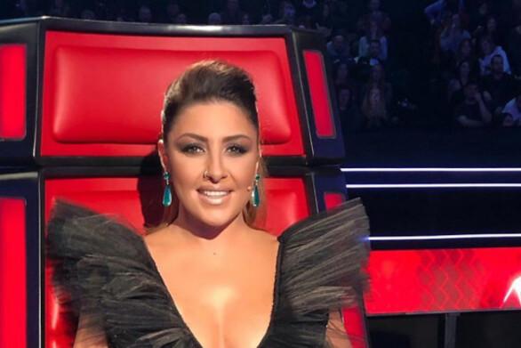 Άφωνη η Έλενα Παπαρίζου με διαγωνιζόμενο στο The Voice (video)