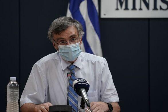 """Σωτήρης Τσιόδρας: """"Σε εξέλιξη το δεύτερο κύμα της πανδημίας του κορωνοϊού"""""""
