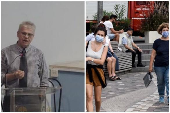 """Γώγος: """"Την τελευταία εβδομάδα 57 κρούσματα στην Αχαΐα - Μικρή η πιθανότητα μετάδοσης αν φορούν όλοι μάσκα"""""""