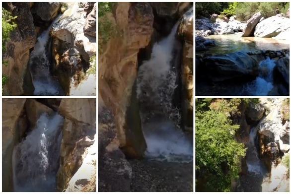 """Καταρράκτης Μεσορρούγι... το """"μυστικό"""" του Κράθι ποταμού στην Αχαΐα (video)"""