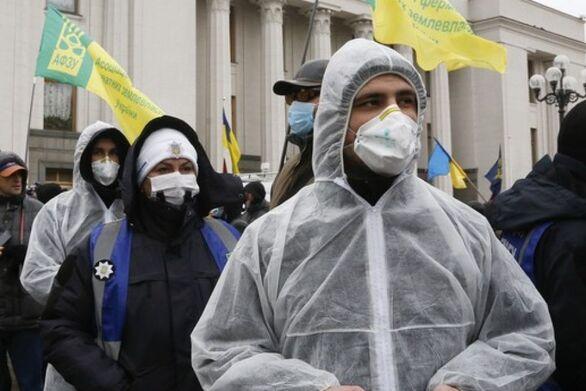 Κορωνοϊός: Θλιβερό ρεκόρ με 108 νεκρούς στην Ουκρανία